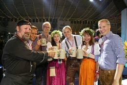 Khai mạc lễ hội bia Đức Oktoberfest Việt Nam 2018