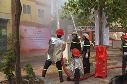 Nhiều chung cư ở TP Hồ Chí Minh chưa nghiệm thu phòng cháy