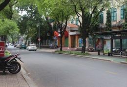 Đường phố TP Hồ Chí Minh yên bình trong ngày thống nhất đất nước 30/4
