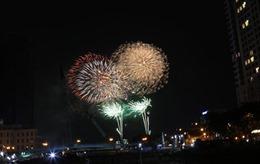 Mãn nhãn với bữa tiệc pháo hoa mừng ngày thống nhất đất nước