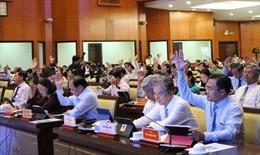 HĐND TP Hồ Chí Minh thông qua 22 tờ trình về kinh tế, xã hội, văn hóa