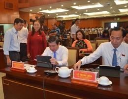 HĐND TP Hồ Chí Minh ứng dụng kỳ họp 'không giấy'
