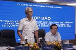 Bảo đảm quyền lợi tốt nhất cho người dân tại dự án Khu Công nghệ cao TP Hồ Chí Minh