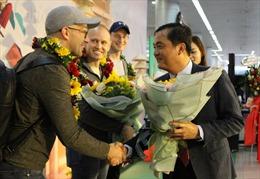 TP Hồ Chí Minh đón những du khách quốc tế 'xông đất' đầu năm 2020