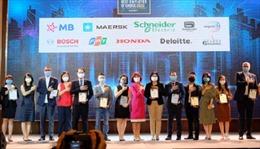 Công bố Top 50 thương hiệu nhà tuyển dụng hấp dẫn nhất với sinh viên hiện nay