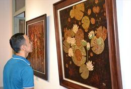 Khai mạc triển lãm tranh sơn mài truyền thống tại TP Hồ Chí Minh