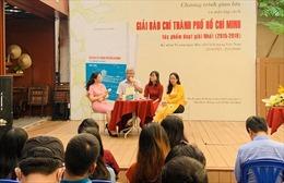 Ra mắt tập sách các tác phẩm đoạt giải Nhất giải thưởng báo chí TP Hồ Chí Minh