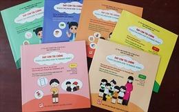 Bộ sách 'Dạy con tài chính' giúp trẻ biết sử dụng tiền hợp lý