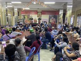 Tạo mọi điều kiện cho người dân nhận dạng tro cốt, di ảnh thất lạc tại chùa Kỳ Quang 2