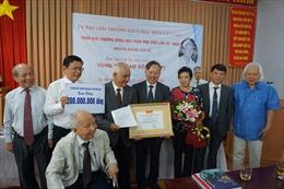 Trao giải thưởng Trần Văn Giàu cho công trình 'Vùng đất Nam bộ'