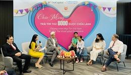 Chương trình Nhịp tim Việt Nam đã phẫu thuật cho 8.000 trẻ embị bệnh tim bẩm sinh