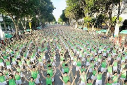 TP Hồ Chí Minh kêu gọi người dân tham gia Ngày chạy Olympic vì sức khỏe toàn dân