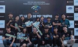 TP Hồ Chí Minh hưởng ứng Chiến dịch Giờ Trái đất năm 2021