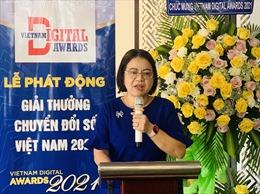 """Nét mới của giải thưởng 'Chuyển đổi số Việt Nam"""" năm 2021"""