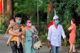 Các điểm tham quan, du lịch tại TP Hồ Chí Minh vắng khách trong ngày đầu nghỉ lễ
