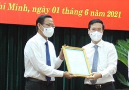 Ông Phan Văn Mãi giữ chức Phó Bí thư Thường trực Thành ủy TP Hồ Chí Minh