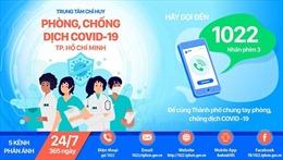 TP Hồ Chí Minh sẽ xử lý các vi phạm phòng dịch COVID-19 sau 30 phút nhận được phản ánh