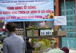 'Siêu thị 0 đồng' lan tỏa tình người giữa mùa dịch tại TP Hồ Chí Minh