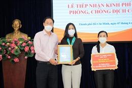TP Hồ Chí Minh tiếp tục nhận ủng hộ kinh phí mua vaccine phòng dịch