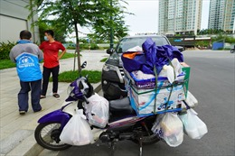 TP Hồ Chí Minh tổ chức lực lượng tình nguyện 'đi chợ thay' người dân trong thời gian giãn cách xã hội