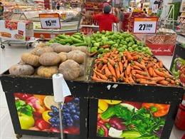 Siêu thị, cửa hàng tiện lợi tại TP Hồ Chí Minh đầy ắp hàng hoá trong ngày thực hiện giãn cách xã hội