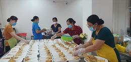 TP Hồ Chí Minh đảm bảo cung cấp đầy đủ suất ăn cho các khu cách ly, điều trị COVID-19