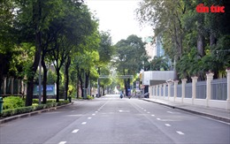 Sáng 23/8, người dân TP Hồ Chí Minh đã tuân thủ nghiêm 'ai ở đâu ở yên đó'