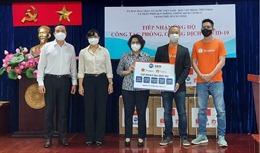 TP Hồ Chí Minh tiếp nhận các trang thiết bị y tế để phục vụ công tác chống dịch