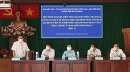 TP Hồ Chí Minh đón các tình nguyện viên tôn giáo hoàn thành nhiệm vụ trở về