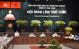Thành ủy TP Hồ Chí Minh quyết định nhiều vấn đề quan trọng về kinh tế - xã hội