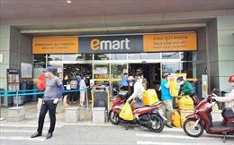 TP Hồ Chí Minh: Siêu thị Emart phải tạm dừng hoạt động vì không đảm bảo quy định phòng dịch