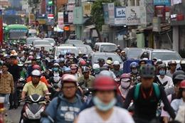 Người dân TP Hồ Chí Minh ùn ùn đổ về quê nghỉ Tết Dương lịch