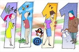 Ngày lễ độc thân 11/11: Nhiều chương trình khuyến mãi,  giảm giá 'sốc' để an ủi dân FA