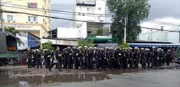 Cảnh sát phong toả, khám xét trụ sở Công ty Địa ốc Alibaba