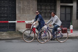 Mốt chơi xe đạp của người trẻ 'Sài thành'