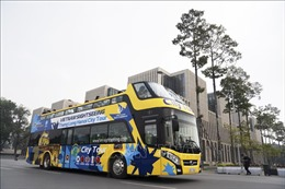Thêm một tuyến xe bus 2 tầng phục vụ du khách tham quan nội đô Hà Nội