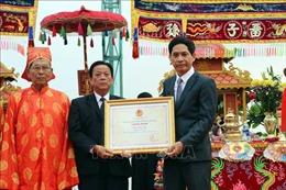 Lễ hội Cầu ngư Đà Nẵng được trao chứng nhận Di sản Văn hóa phi vật thể quốc gia
