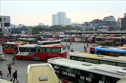 Hà Nội xử lý nghiêm ô tô bắt khách ngang nhiên tại khu vực Bến xe Mỹ Đình