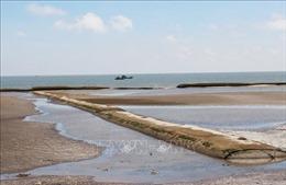 Dự án bảo vệ đê biểnGò Công Đông còn thiếu bền vững