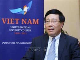 Việt Nam ưu tiên thúc đẩy các vấn đề toàn cầu trên cơ sở luật pháp quốc tế