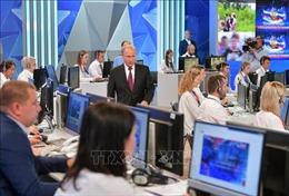 Tổng thống Nga đối thoại trực tuyến: Quan hệ giữa Nga với phương Tây không có thay đổi lớn