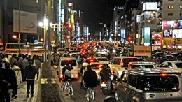 Thử nghiệm biện pháp hạn chế giao thông phục vụ Olympics và Paralympics 2020