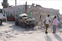 Nhiều quan chức bị thương trong vụ đánh bom rung chuyển thủ đô Somalia