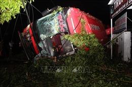 Khởi tố lái xe gây tai nạn trên quốc lộ 26 làm 13 người thương vong