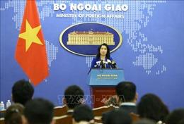 Bộ Ngoại giao Việt Nam lên tiếng về hoạt động của nhóm tàu khảo sát Hải Dương 8 của Trung Quốc