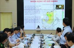 Thông báo cho 3.960 tàu thuyền tại Hà Tĩnh biết đường đi của bão số 4
