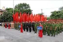 Ninh Bình ra quân thực hiện Tháng cao điểm đảm bảo trật tự, an toàn giao thông