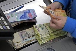 Đồng peso của Argentina tiếp tục mất giá mạnh
