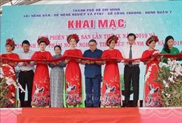 TP Hồ Chí Minh khai mạc chợ phiên nông sản