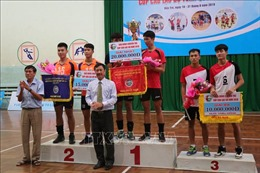 Đội nữ Thông tin Liên Việt Postbank và đội nam Biên Phòng vô địch giải Bóng chuyền trẻ Cúp câu lạc bộ toàn quốc năm 2019